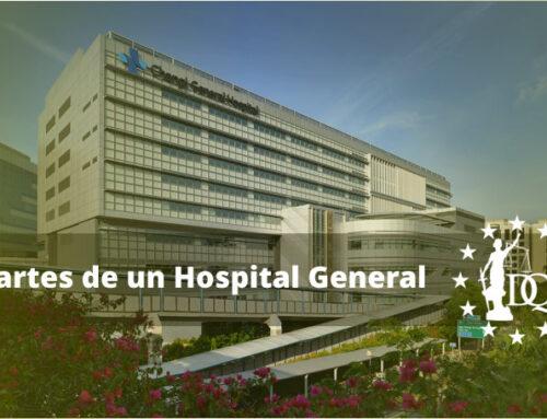 Partes de un Hospital General   Master en Gestión Sanitaria